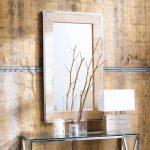 Miroir en manguier et métal effet chromé H 120 cm Helsinki | Maisons …