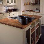 buffet de cuisine bois blanc