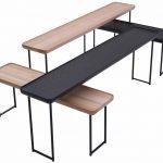 Table d'appoint FRITZ coloris blanc - Vente de Table basse .
