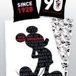 Parure de lit 1 personne 'Mickey 90 ans'