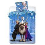 La Reine Des Neiges - Reine des Neiges Frozen - Parure de Lit Enfant -  Housse