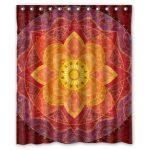 Rideau de douche Mandala Indien – Décoration Feng Shui Medittion