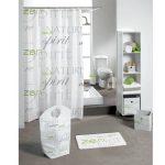 Rideau de douche Nature Zen Vert Premium – Accessoire Douche …