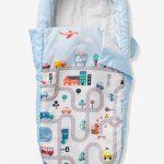 Sac de couchage Readybed® avec matelas intégré et tête de lit AUTO-CITY Bleu