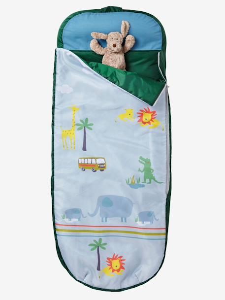 Sac de couchage Readybed® avec matelas intégré JUNGLE imprimé safari …