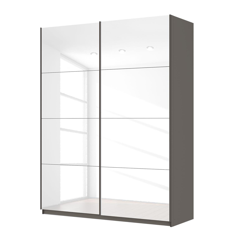 Armoire à portes coulissantes SKØP - 181 cm (2 portes) - 236 cm -