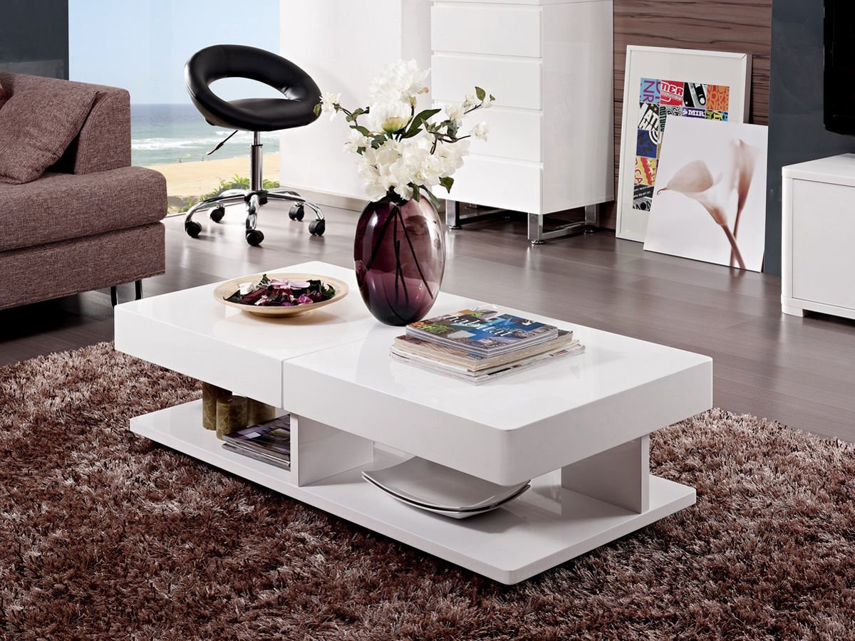 X TABLE BASSE DALIA RECTANGULAIRE 70121 EXTENSIBLE 120 ZPkuXi