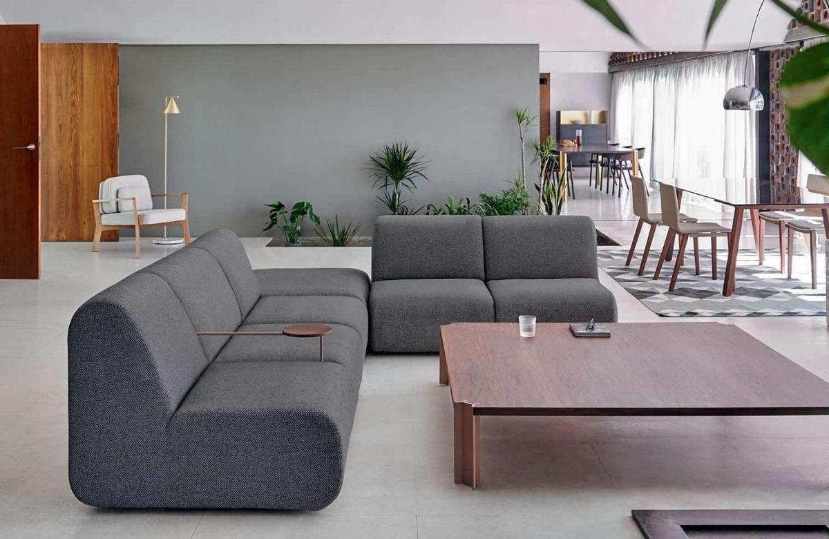 CROSSING Table basse – 150 à 200 cm – Design Arik Levy – Punt …