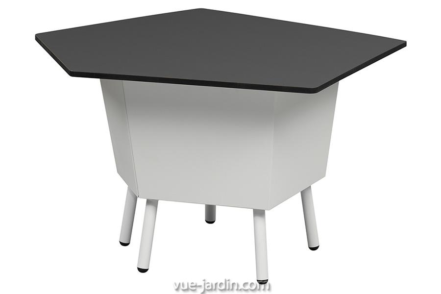 Table Basse Design Hexagonal en métal. Elevation 535 d'Arik Levy …
