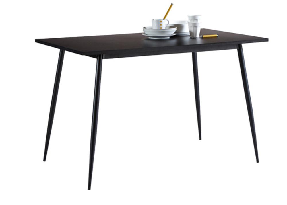 Table de cuisine Niko Noir
