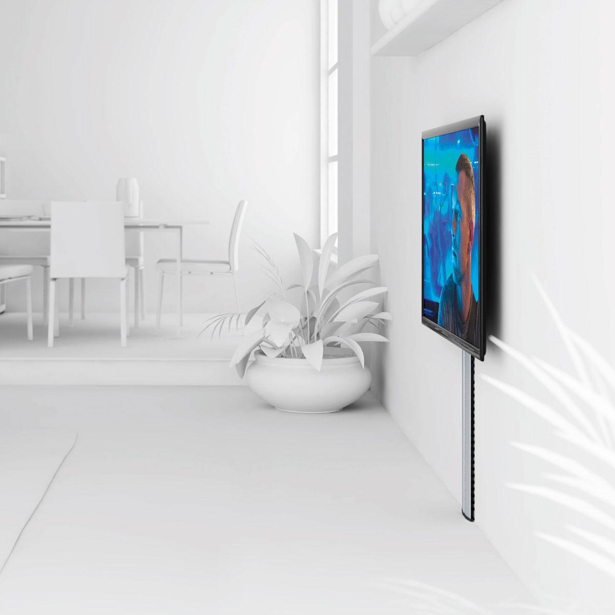 Meuble Tv Avec Cache Fils ides de cacher les cables tv mural galerie dimages
